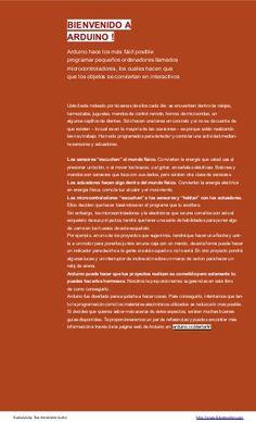Libro de proyectos del kit oficial de Arduino en castellano completo … Kit, Arduino Books, Book Projects, Arduino Projects