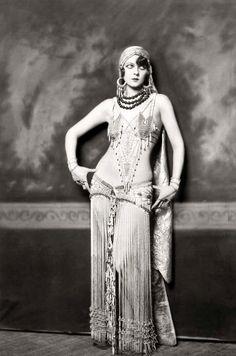 vintage gypsy belly dancer