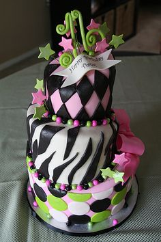 my daughters 16th bday cake from Wrightberry's Cake Shop in Oregon City Oregon!
