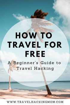 A simplified guide to travel hacking so you can start traveling for free. This guide will explain all the basics to travel hacking including my personal strategy. Travel hacking is using credit card points to take free or discounted vacations. #travelhack #travelhacking #budgettravel