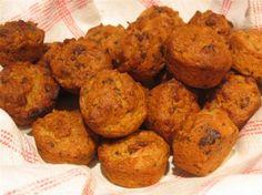 Coconut, Chocolate & Banana Mini Muffins