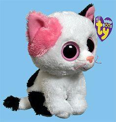 Ty Beanie Boos Cats Muffin - cat - ty beanie boo