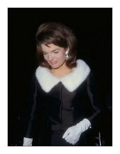 Pensive, yet always stunning — with Jacqueline Kennedy Onassis.