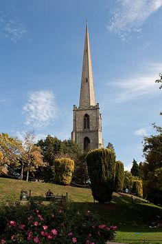 The Glover's Needle. This is all that remains of St Andrews Church in Worcester, England
