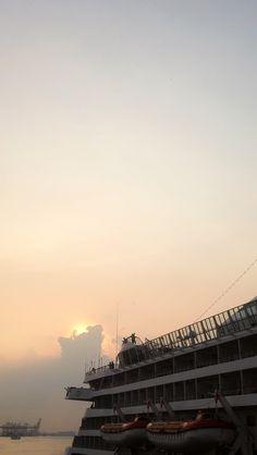 Sunset comes..  Surabaya North Quay, Surabaya Indonesia