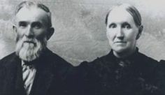 James Henry Smith, Pioneer of 1853  pictured with wife, Ann (Bates) Smith