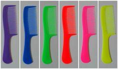 £1.39 New-1-2-3Pcs-Hair-Combs-8-Standard-Hairdressing-Combs-Plastic-Women-Men-Styling