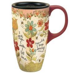 Lang I Keep Dancing Latte Travel Mug