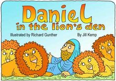 Boekje Daniel in de leeuwenkuil gratis printen // Lambsongs Printable Bible Story Books (scroll down for this story)