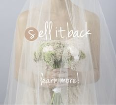 website where you can buy new, sample, & preowned wedding dresses at a fraction of the price--great for a tight budget!