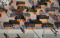 Em Detalhe: Mobiliário Urbano do Projeto LentSpace / Interboro