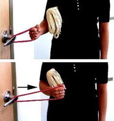 Shoulder Pain Exercise Relief   Rotator Cuff Tendinitis Exercises