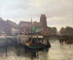 Gezicht op Dordrecht - Wim Jansen.