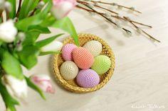 Бесплатный крючком картина: пасхальные яйца // Кристи Tullus (spire.ee)