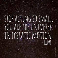 ecstatic motion #Rumi