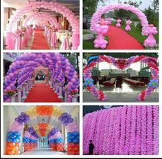 Various Balloon Arches