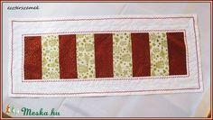Karácsonyi terítő, asztali futó II. (eszterszemek) - Meska.hu My Works, Quilts, Blanket, Christmas, Yule, Comforters, Blankets, Navidad, Quilt Sets