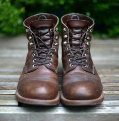 Waxed Earth Iron Ranger | American Highway Collection