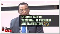 LE GRAND TALK DE VOXAFRICA :AFFI N'GUESSAN DIGNE ÉLÈVE DU PRESIDENT GBAGBO LAURENT PÈRE DU