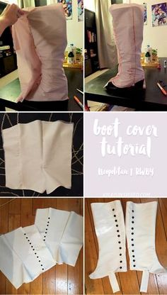 Kyla Cosplay | Neo Boot Cover Tutorial