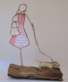 Wire Crafts, Wooden Crafts, Diy And Crafts, Sculptures Sur Fil, Wire Sculptures, 3d Pen, Diy Dollhouse, Crafty Projects, Wire Art