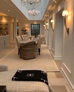 Luxury Homes Dream Houses, Luxury Homes Interior, Diy Interior, Home Interior Design, Interior Decorating, Home Room Design, Dream Home Design, Modern House Design, Living Room Designs