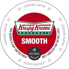 Krispy Kreme Smooth K-Cup Portion Pack for Keurig Brewers