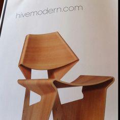 Unique office chair.