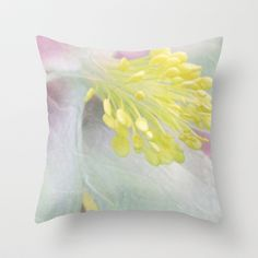 Summer Fleur Throw Pillow by Stacy Frett - $20.00
