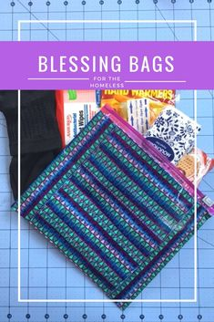 Blessing Bags for the Homeless, DIY Duct Tape Craft for the Homeless