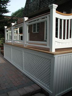deck railing ideas | stylish deck railings can be the finishing touch for a deck project