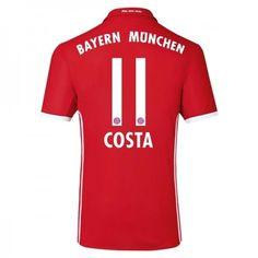 Bayern München 16-17 Douglas #Costa 11 Hemmatröja Kortärmad,259,28KR,shirtshopservice@gmail.com