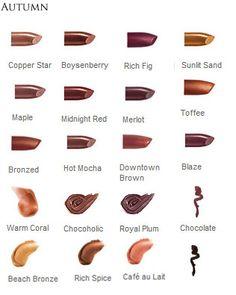 Mary Kay Lipstick for Autumns
