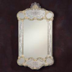 Decorative Crafts Venetian Denali Mirror 691