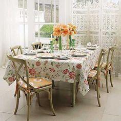 White and apricot conservatory | housetohome.co.uk