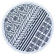 Aztec Roundie Towel - The Beach People