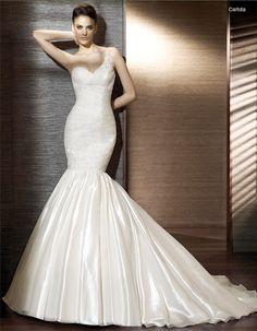 sexy and glamorous #wedding #dress
