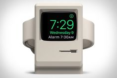 Even after 30+ years, the original Macintosh retains a charm most modern computers can't touch. Pay homage to the iconic design with this Classic Macintosh Apple Watch Stand. Made from scratch-free silicone in a charming beige, it has a hidden...