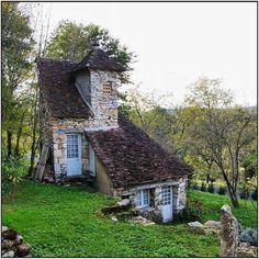 Cottage in rural France.