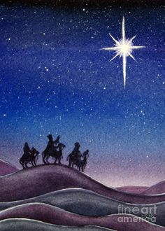 and, lo, the star, which they saw in the east, went before them ...and they rejoiced
