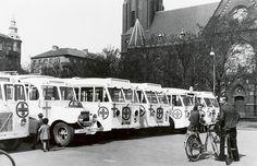 HSS bussar blev vita bussar 1945