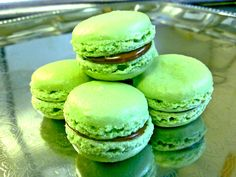 Apple pie flavoured #macaroons