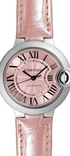 Ballon Blue de Cartier - Automatic Wacht- Pink