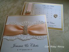 Luxury Diamante Buckle Wedding Invitation. Various Colour Options. by QuillsWeddingFavours on Etsy www.quillsweddingstationery.co.uk https://www.facebook.com/pages/Quills-Wedding-Stationery/278003989009997