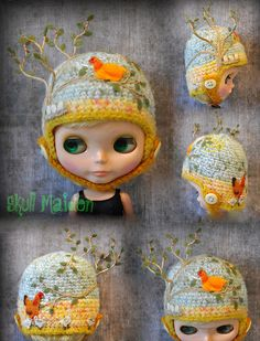 Kids Hats, Hat Making, Crochet Hats, Beanie, Skull, Backyard, The Incredibles, Dolls, Christmas Ornaments