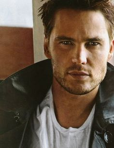 Taylor Kitsch...I thought I would hate it when he cut his hair off.  Man was I wrong?!  Still yummy!