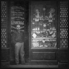 Opening of the Officine Panerai Workshop, 1860.