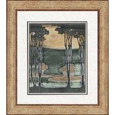 Found it at Wayfair - Nouveau Trees I by Goldberger Framed Painting Print