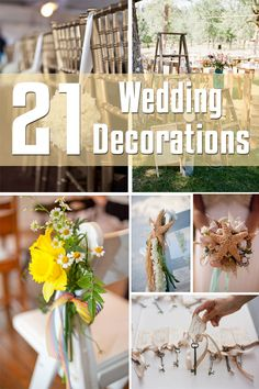 21 Wedding Decorations | Decor for the Holidays
