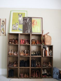 Lovely shoe wall | Good Day Howard